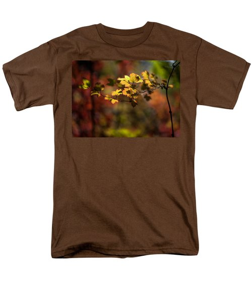 Men's T-Shirt  (Regular Fit) featuring the photograph Lightly Falling by Aaron Aldrich
