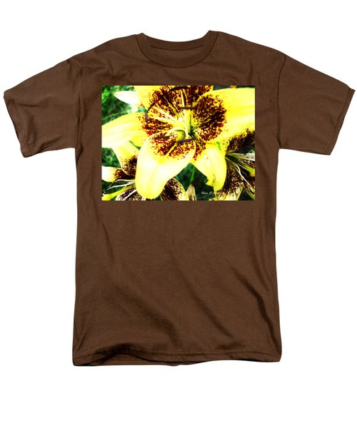 Men's T-Shirt  (Regular Fit) featuring the photograph Lily Love by Shana Rowe Jackson