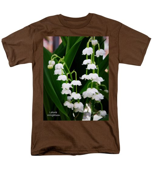 Lily Of The Valley Men's T-Shirt  (Regular Fit) by Lainie Wrightson