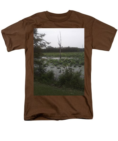 Men's T-Shirt  (Regular Fit) featuring the photograph Lily Pads by Fortunate Findings Shirley Dickerson