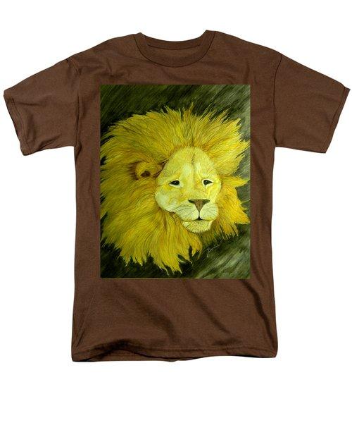 Lion Men's T-Shirt  (Regular Fit)