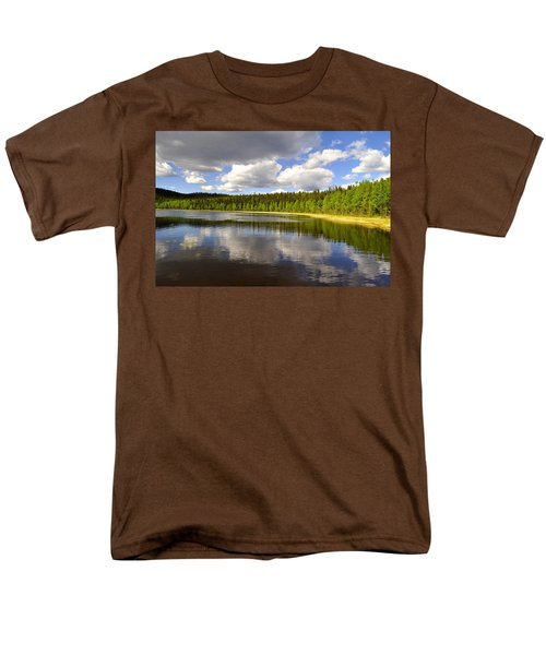 Men's T-Shirt  (Regular Fit) featuring the photograph Little Lost Lake by Cathy Mahnke