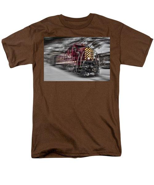 Locomotion Men's T-Shirt  (Regular Fit) by Ellen Heaverlo