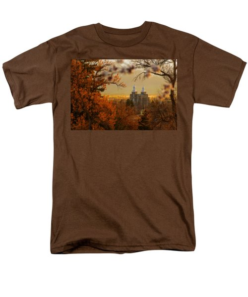 Logan Temple Men's T-Shirt  (Regular Fit) by Dustin  LeFevre