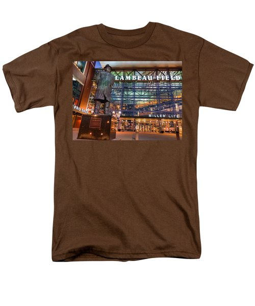 Lombardi At Lambeau Men's T-Shirt  (Regular Fit)