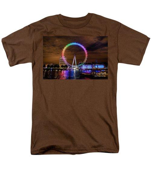London Eye Pride Men's T-Shirt  (Regular Fit) by Matt Malloy