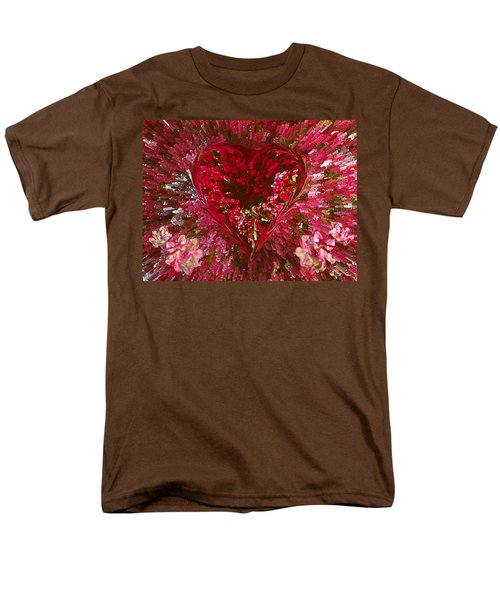 Look Deep Into My Heart Men's T-Shirt  (Regular Fit) by David Pantuso