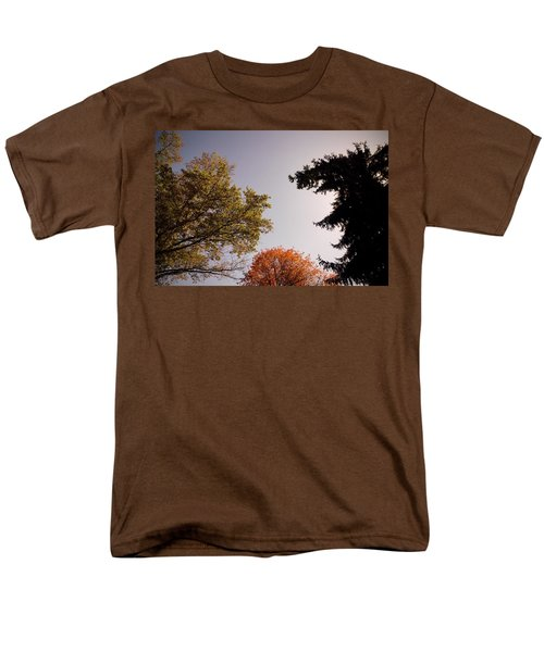 Men's T-Shirt  (Regular Fit) featuring the photograph Looking Down On Us by Photographic Arts And Design Studio