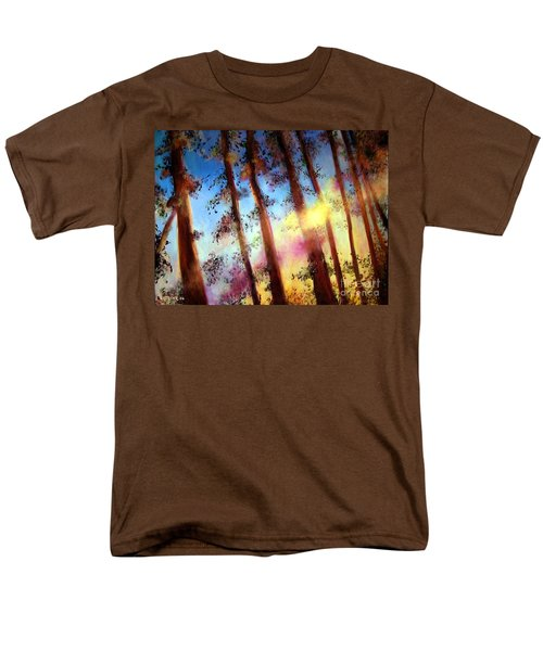 Looking Through The Trees Men's T-Shirt  (Regular Fit) by Alison Caltrider
