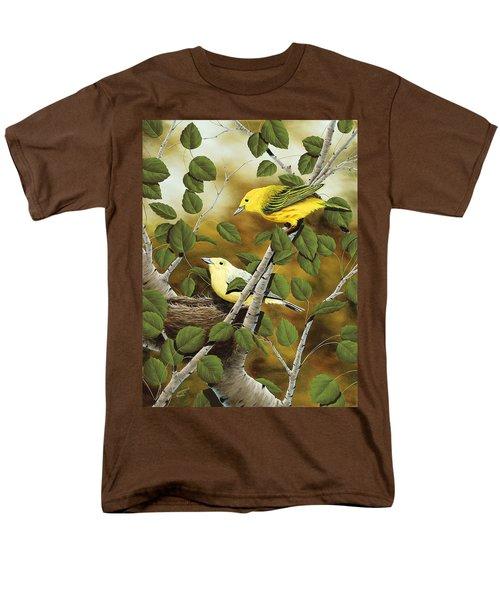 Love Nest Men's T-Shirt  (Regular Fit) by Rick Bainbridge