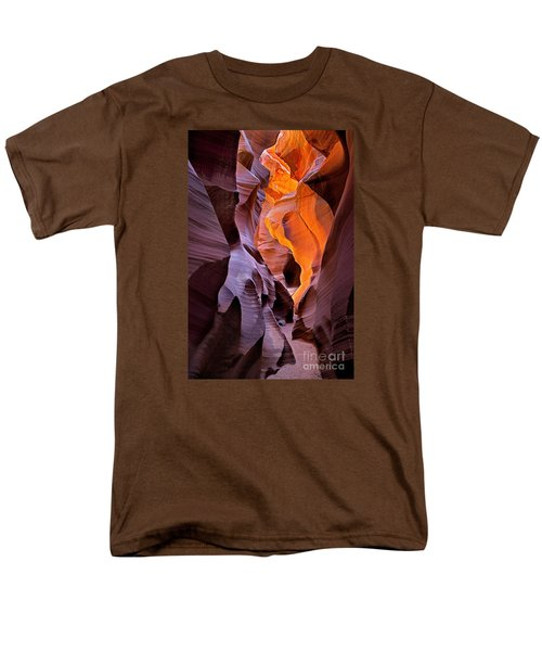 Lower Antelope Glow Men's T-Shirt  (Regular Fit) by Jerry Fornarotto