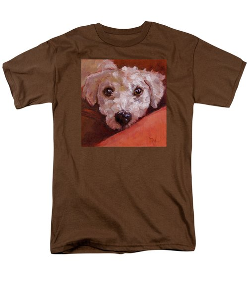 Men's T-Shirt  (Regular Fit) featuring the painting Lucky by Pattie Wall