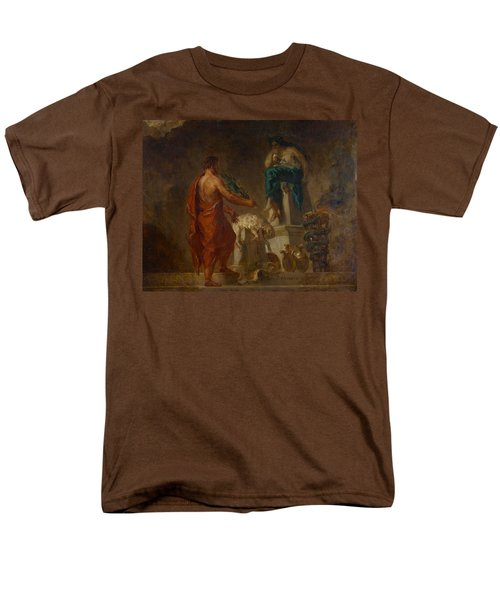 Lycurgus Consulting The Pythia Men's T-Shirt  (Regular Fit) by Eugene Delacroix