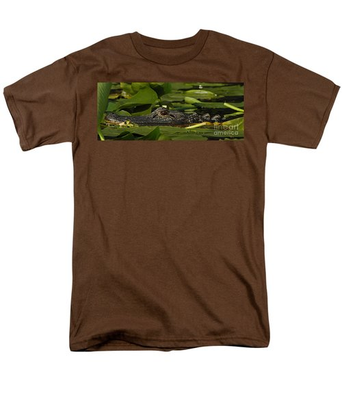 Men's T-Shirt  (Regular Fit) featuring the photograph Lying In Wait by Vivian Christopher