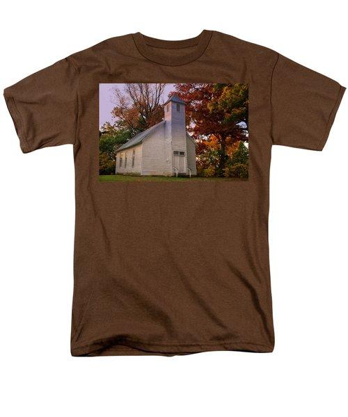 Macedonia Missionary Baptist Church Men's T-Shirt  (Regular Fit) by Chris Flees