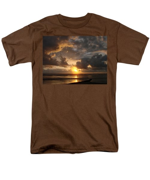 Men's T-Shirt  (Regular Fit) featuring the photograph Majestic Sunset by Athena Mckinzie