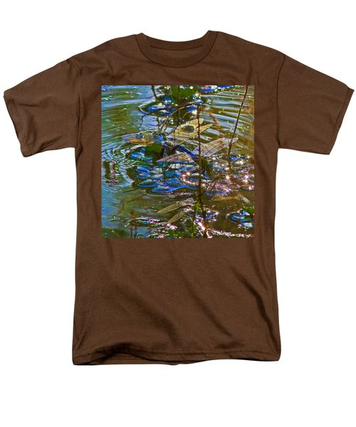 Men's T-Shirt  (Regular Fit) featuring the photograph Making A Deposit For The Future by Gary Holmes