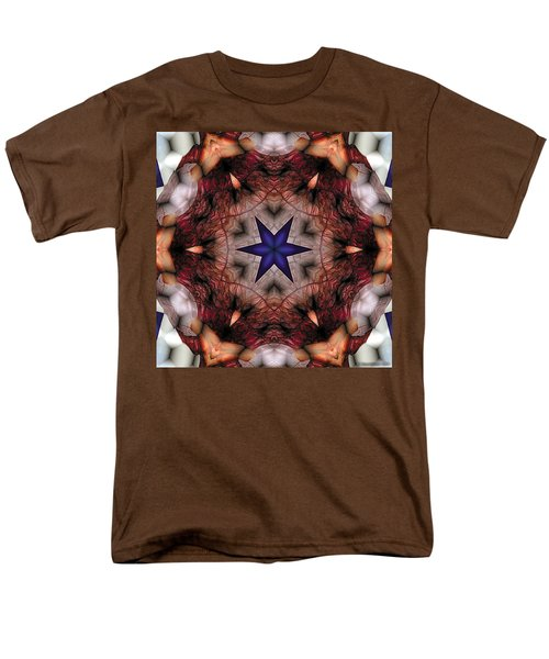 Men's T-Shirt  (Regular Fit) featuring the digital art Mandala 14 by Terry Reynoldson