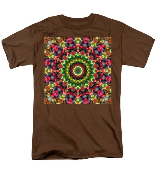 Men's T-Shirt  (Regular Fit) featuring the digital art Mandala 70 by Terry Reynoldson
