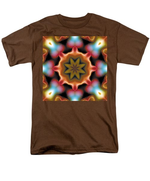 Men's T-Shirt  (Regular Fit) featuring the digital art Mandala 94 by Terry Reynoldson