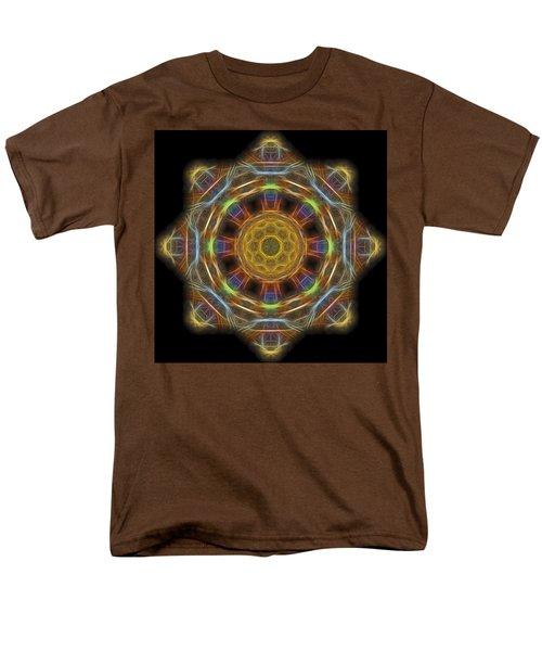 Mandala Of Light 1 Men's T-Shirt  (Regular Fit) by William Horden