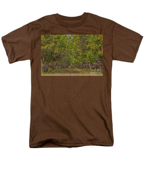 Mango Orchard Men's T-Shirt  (Regular Fit) by Douglas Barnard