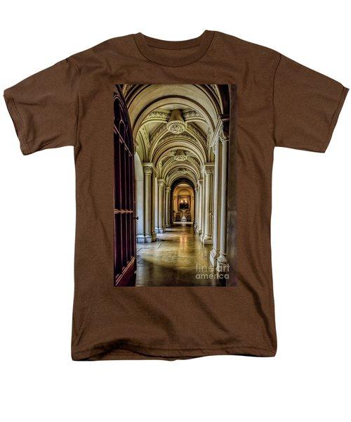 Mansion Hallway Men's T-Shirt  (Regular Fit) by Adrian Evans