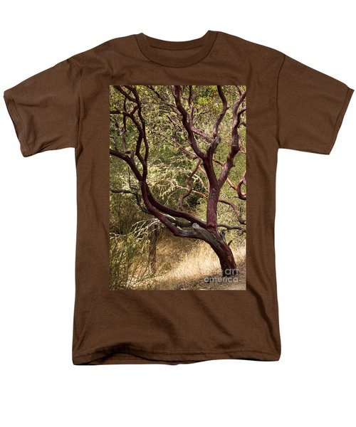 Manzanita Tree Men's T-Shirt  (Regular Fit) by Suzanne Luft