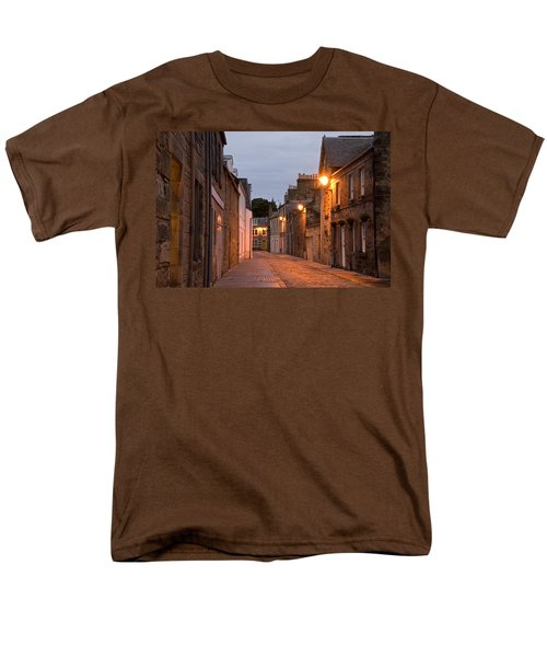 Men's T-Shirt  (Regular Fit) featuring the photograph Market Street At Dusk by Jeremy Voisey