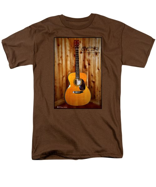 Martin Guitar - The Eric Clapton Limited Edition Men's T-Shirt  (Regular Fit) by Bill Cannon