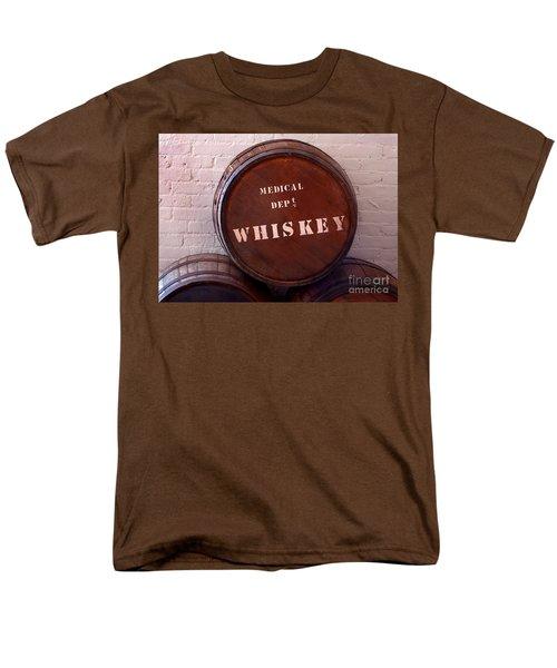 Medical Wiskey Barrel Men's T-Shirt  (Regular Fit) by Phil Cardamone