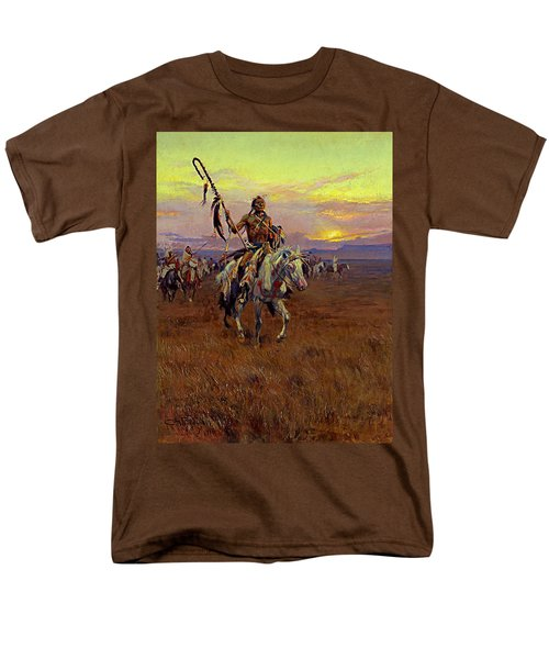 Medicine Man Men's T-Shirt  (Regular Fit) by Charles Marion Russell