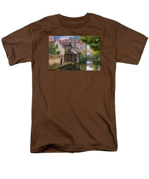 Medieval Bruges Men's T-Shirt  (Regular Fit) by Juli Scalzi