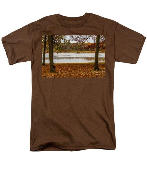 Mendon Ponds Men's T-Shirt  (Regular Fit) by William Norton
