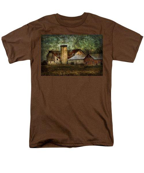 Mennonite Farm In Tennessee Usa Men's T-Shirt  (Regular Fit) by Kathy Clark