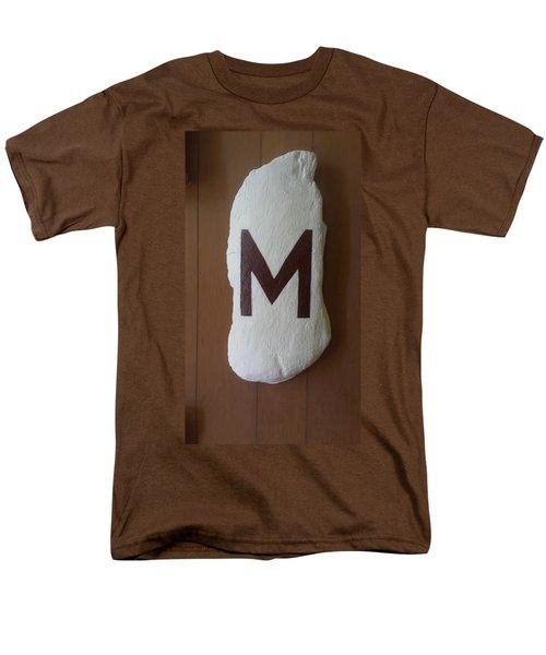 Menominee Maroons Men's T-Shirt  (Regular Fit) by Jonathon Hansen
