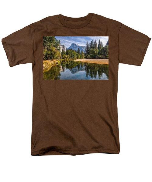 Merced River View II Men's T-Shirt  (Regular Fit) by Peter Tellone