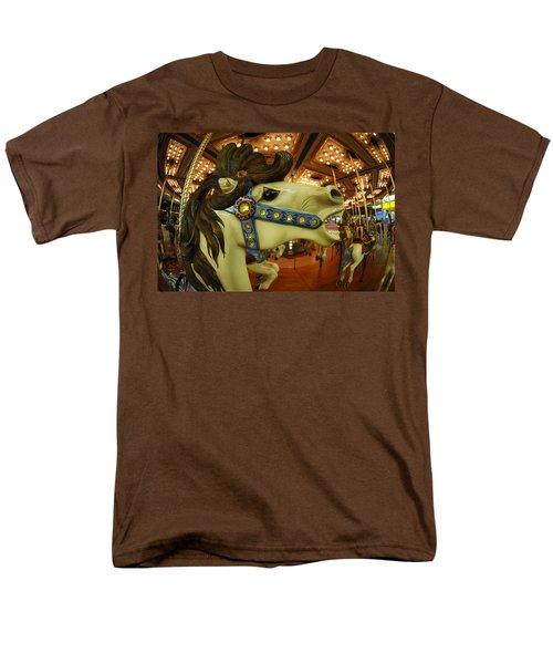 Men's T-Shirt  (Regular Fit) featuring the photograph Merry Go Round by Sami Martin