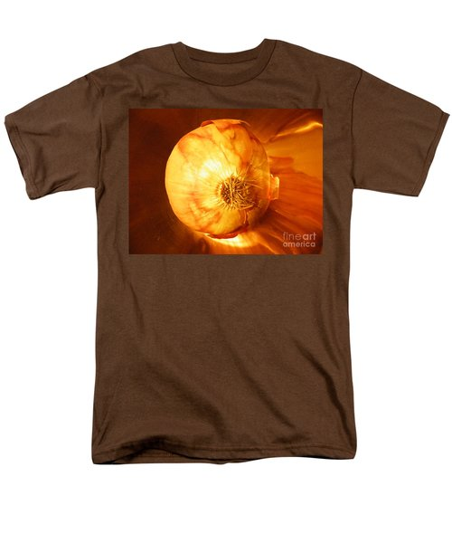 Meteoric Onion Men's T-Shirt  (Regular Fit) by Brian Boyle