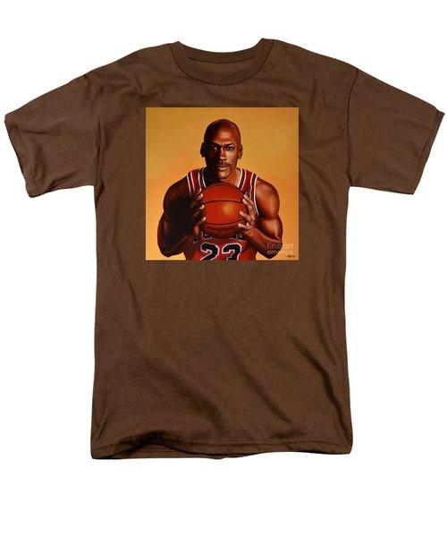 Michael Jordan 2 Men's T-Shirt  (Regular Fit) by Paul Meijering