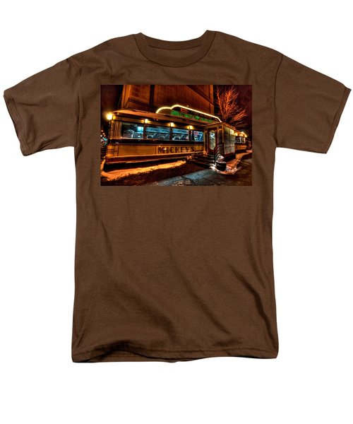 Mickey's Diner St Paul Men's T-Shirt  (Regular Fit) by Amanda Stadther