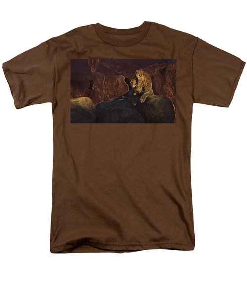 Men's T-Shirt  (Regular Fit) featuring the photograph Mister Majestic by David Andersen