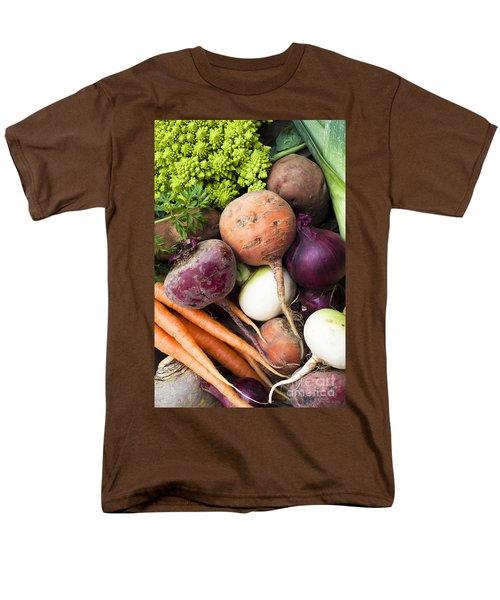 Mixed Veg Men's T-Shirt  (Regular Fit) by Anne Gilbert