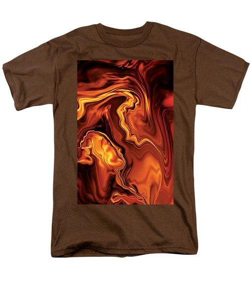 Moment Before The Kiss-2 Men's T-Shirt  (Regular Fit) by Rabi Khan
