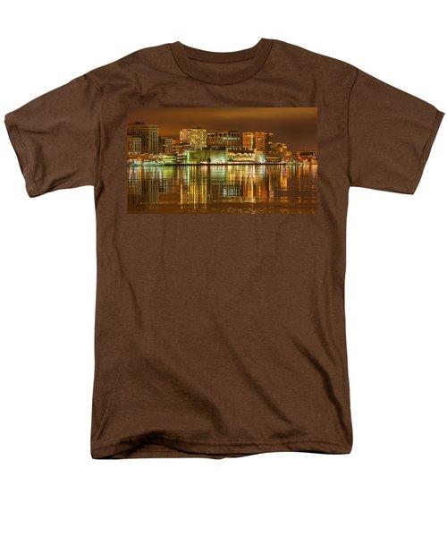 Monona Terrace Madison Wisconsin Men's T-Shirt  (Regular Fit) by Steven Ralser