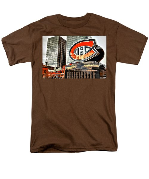 Montreal C Men's T-Shirt  (Regular Fit) by Alice Gipson