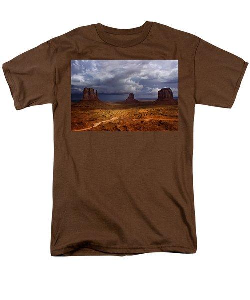 Monuments Of The West Men's T-Shirt  (Regular Fit) by Ellen Heaverlo