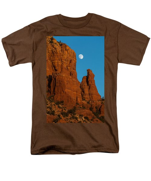 Moon Over Chicken Point Men's T-Shirt  (Regular Fit)