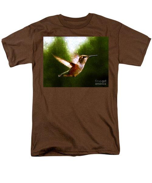 Moonlit Iridescence  Men's T-Shirt  (Regular Fit) by Barbara Chichester