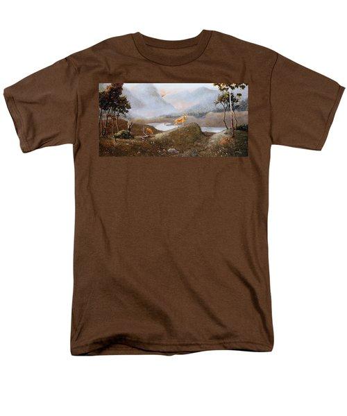 Morning Mist Men's T-Shirt  (Regular Fit) by Duane R Probus